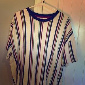 Men's Medium Urban Outfitters Striped Tee